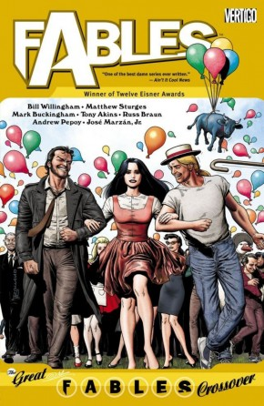 FABLES VOLUME 13 THE GREAT FABLES CROSSOVER GRAPHIC NOVEL