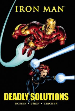 IRON MAN DEADLY SOLUTIONS HARDCOVER