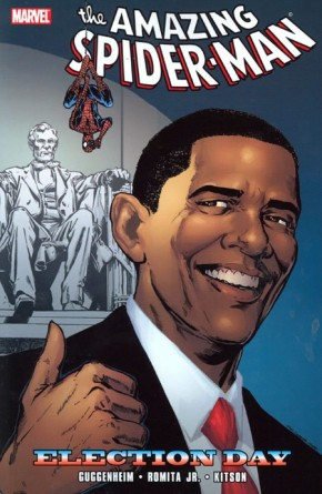 SPIDER-MAN ELECTION DAY GRAPHIC NOVEL