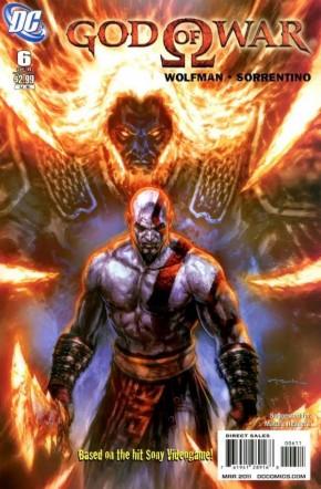 GOD OF WAR #6 (2010 SERIES)
