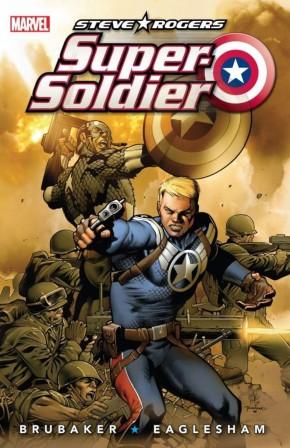 STEVE ROGERS SUPER SOLDIER HARDCOVER