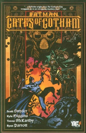 BATMAN GATES OF GOTHAM GRAPHIC NOVEL