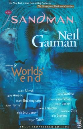 SANDMAN VOLUME 8 WORLDS END GRAPHIC NOVEL (OLD VERSION)