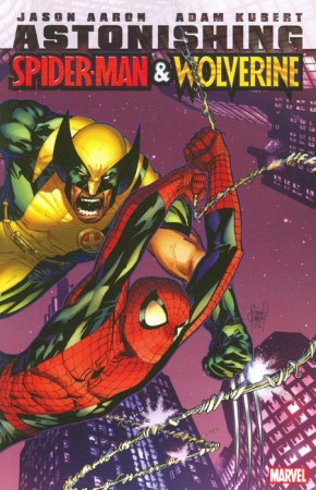 ASTONISHING SPIDER-MAN AND WOLVERINE GRAPHIC NOVEL