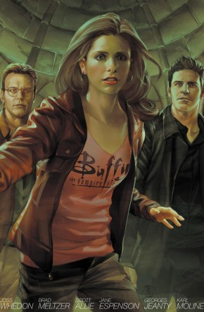 BUFFY THE VAMPIRE SLAYER SEASON 8 VOLUME 4 LIBRARY EDITION HARDCOVER