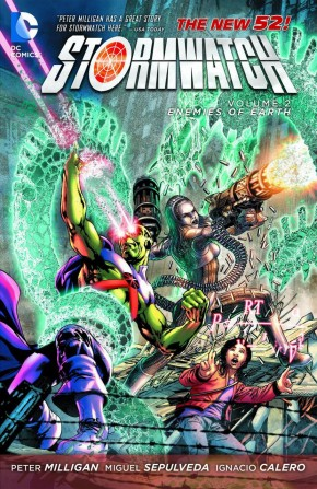 STORMWATCH VOLUME 2 ENEMIES OF THE EARTH GRAPHIC NOVEL