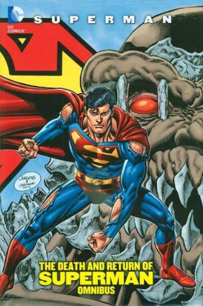 SUPERMAN THE DEATH AND RETURN OF SUPERMAN OMNIBUS HARDCOVER