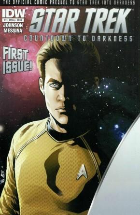 Star Trek Countdown to Darkness #1 *Corner Dink*