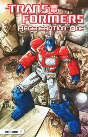 TRANSFORMERS REGENERATION ONE VOLUME 1 GRAPHIC NOVEL