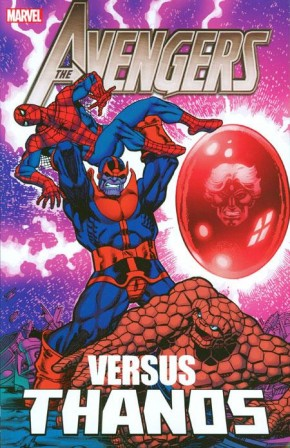 AVENGERS VS THANOS GRAPHIC NOVEL