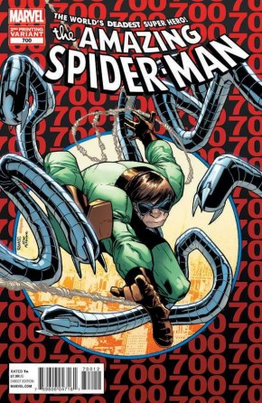 AMAZING SPIDER-MAN #700 (1999 SERIES) 2ND PRINTING