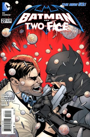 BATMAN AND TWO-FACE #27 (2011 SERIES)