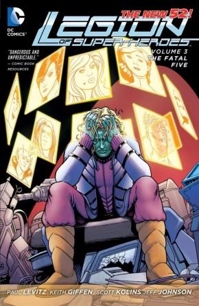 LEGION OF SUPERHEROES VOLUME 3 THE FATAL FIVE GRAPHIC NOVEL