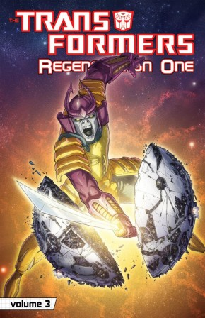 TRANSFORMERS REGENERATION ONE VOLUME 3 GRAPHIC NOVEL