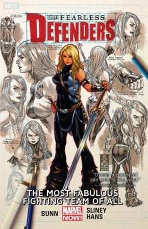 FEARLESS DEFENDERS VOLUME 2 THE MOST FABULOUS FIGHTING TEAM OF ALL GRAPHIC NOVEL