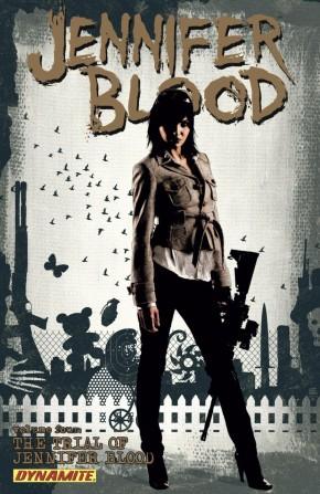 JENNIFER BLOOD VOLUME 4 THE TRIAL OF JENNIFER BLOOD GRAPHIC NOVEL