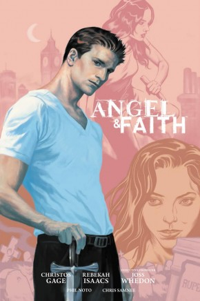 ANGEL AND FAITH SEASON 9 VOLUME 1 LIBRARY EDITION HARDCOVER