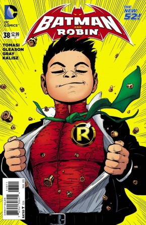 BATMAN AND ROBIN #38 (2011 SERIES)
