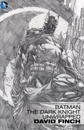 BATMAN THE DARK KNIGHT UNWRAPPED DAVID FINCH DELUXE EDITION HARDCOVER