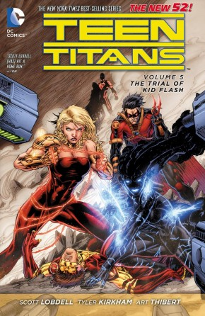 TEEN TITANS VOLUME 5 THE TRIAL OF KID FLASH GRAPHIC NOVEL