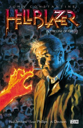 HELLBLAZER VOLUME 10 IN THE LINE OF FIRE GRAPHIC NOVEL