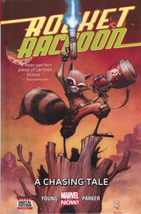 ROCKET RACCOON VOLUME 1 CHASING TALE HARDCOVER