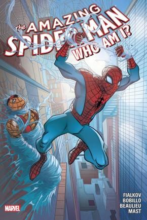 AMAZING SPIDER-MAN WHO AM I HARDCOVER