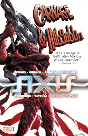 AXIS CARNAGE AND HOBGOBLIN GRAPHIC NOVEL