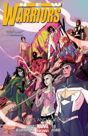 NEW WARRIORS VOLUME 2 ALWAYS AND FOREVER GRAPHIC NOVEL