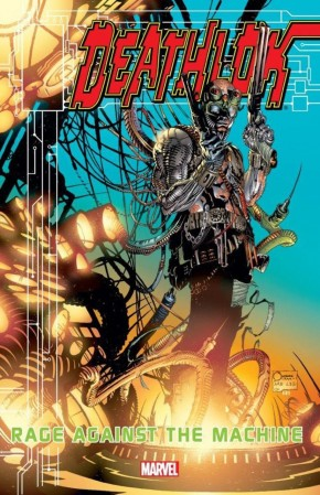 DEATHLOK RAGE AGAINST THE MACHINE GRAPHIC NOVEL