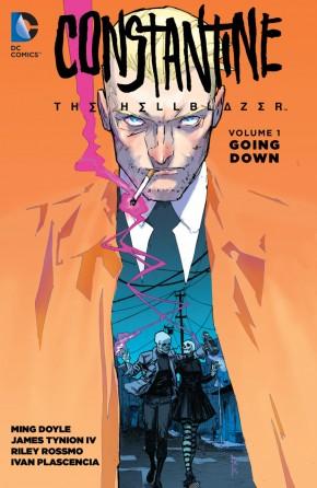 CONSTANTINE THE HELLBLAZER VOLUME 1 GOING DOWN GRAPHIC NOVEL