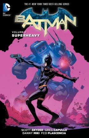 BATMAN VOLUME 8 SUPERHEAVY HARDCOVER