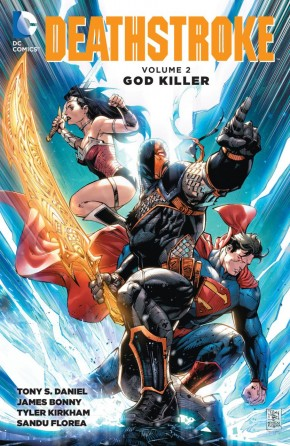 DEATHSTROKE VOLUME 2 GOD KILLER GRAPHIC NOVEL