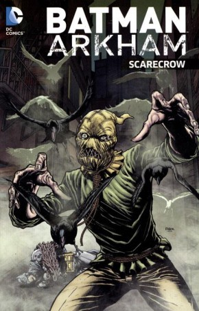 BATMAN ARKHAM SCARECROW GRAPHIC NOVEL
