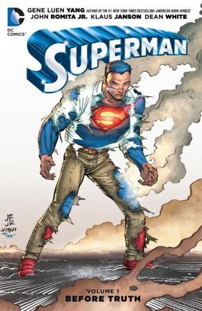 SUPERMAN VOLUME 1 BEFORE TRUTH HARDCOVER