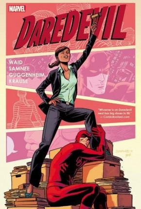 DAREDEVIL BY MARK WAID AND CHRIS SAMNEE VOLUME 5 HARDCOVER