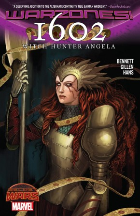 1602 WITCH HUNTER ANGELA GRAPHIC NOVEL