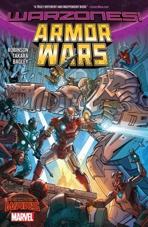 ARMOR WARS WARZONES GRAPHIC NOVEL