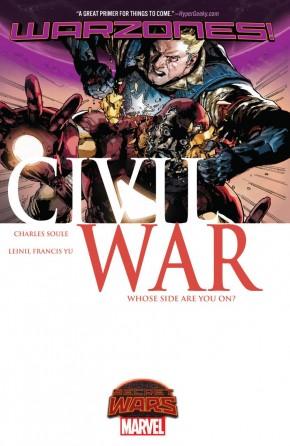 CIVIL WAR WARZONES GRAPHIC NOVEL