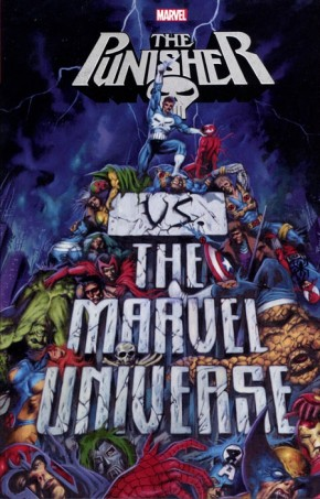 PUNISHER VS THE MARVEL UNIVERSE GRAPHIC NOVEL
