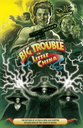 BIG TROUBLE IN LITTLE CHINA VOLUME 2 GRAPHIC NOVEL