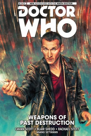 DOCTOR WHO 9TH DOCTOR VOLUME 1 WEAPONS OF PAST DESTRUCTION HARDCOVER