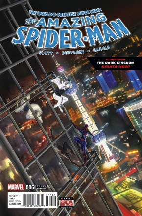 AMAZING SPIDER-MAN #6 (2015 SERIES) 2ND PRINTING