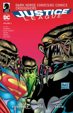 DC COMICS DARK HORSE COMICS JUSTICE LEAGUE VOLUME 2 GRAPHIC NOVEL