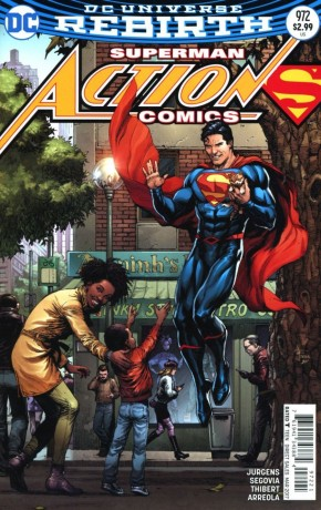 ACTION COMICS #972 VARIANT EDITION