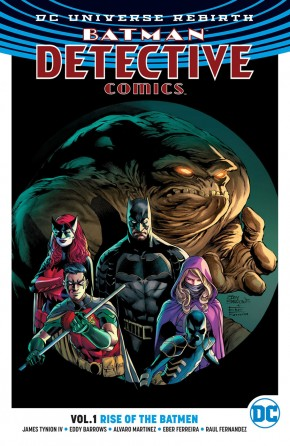 BATMAN DETECTIVE COMICS VOLUME 1 RISE OF THE BATMEN GRAPHIC NOVEL