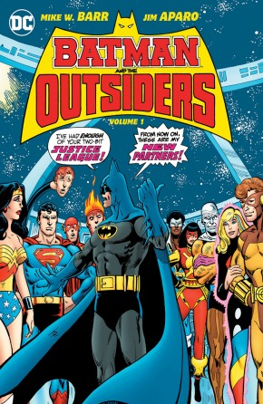 BATMAN AND THE OUTSIDERS VOLUME 1 HARDCOVER