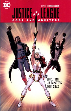 JUSTICE LEAGUE GODS AND MONSTERS GRAPHIC NOVEL