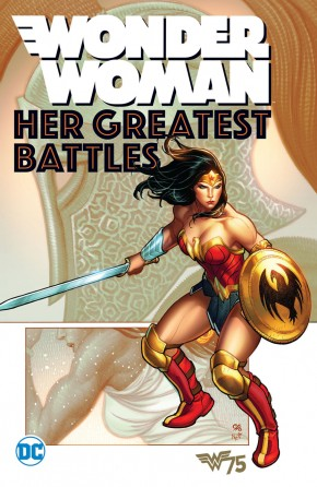 WONDER WOMAN HER GREATEST BATTLES GRAPHIC NOVEL