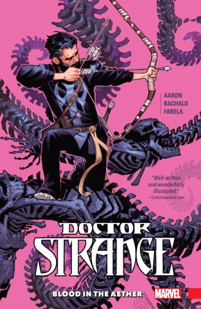 DOCTOR STRANGE VOLUME 3 BLOOD IN THE AETHER HARDCOVER